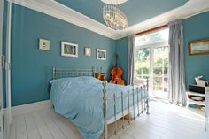 blue for a bedroom