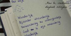 How to: Creatiever dagboek schrijven