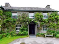 Hilltop--Beatrix Potter's 17th-century farmhouse near Sawrey, Hawkshead, Ambleside, Lake District, UK