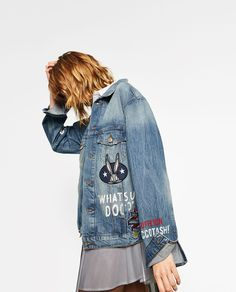 ZARA - WOMAN - LOONEY TUNES DENIM JACKET