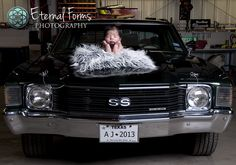 Vintage Cars and Newborn - Austin Area Newborn Photography — Eternal Forms Photography Baby Boy Pictures, Newborn Pictures, Baby Photos, Foto Newborn, Newborn Session, Racing Baby, Harley Davidson, Newborn Baby Photography, Baby Family