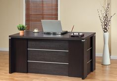modern desk with filing cabinets - Google Search