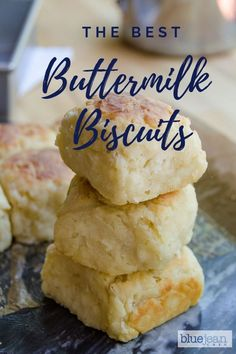 These homemade drop bisquits are so easy to make. Simple ingredients of sefl rising flour, butter, and buttermilk make these biscuits light and fluffy. Buttermilk Drop Biscuits, Homemade Buttermilk Biscuits, Buttermilk Recipes, Buttermilk Bisquit Recipe, Recipe For Homemade Biscuits, Southern Homemade Biscuits, Easy Drop Biscuits, Biscuits Self Rising Flour, Buttermilk Biscuit Recipe With Self Rising Flour