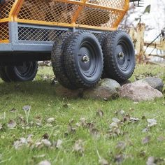This handy Bannon Utility Trailer features a large x steel bed to haul loads up to lbs. Atv Dump Trailer, Quad Trailer, Utility Trailer, Small Cooler, Loading Ramps, Decking Material, Deck Construction, Steel Bed, Simple Bed