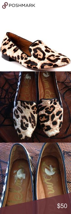 Sam Edelman Snow Leopard Alvin  Loafers Great condition-worn a few times. Sticker is still on the inside. Sam Edelman Shoes Flats & Loafers