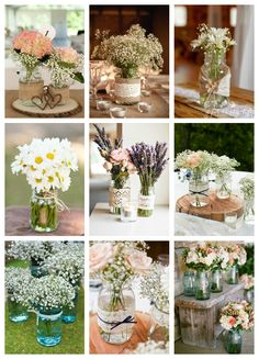 DIY Blumen Flower arrangements, post_tags] Boost Your Confidence With Clubwear Lingerie Article Body Rustic Wedding Centerpieces, Wedding Table Decorations, Wedding Flower Arrangements, Wedding Bouquets, Wedding Flowers, Mason Jar Centerpieces, Centrepieces, Wedding Rustic, Mason Jars