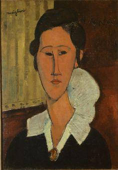 Amedeo Modigliani: Ritratto di Hanka Zborowska