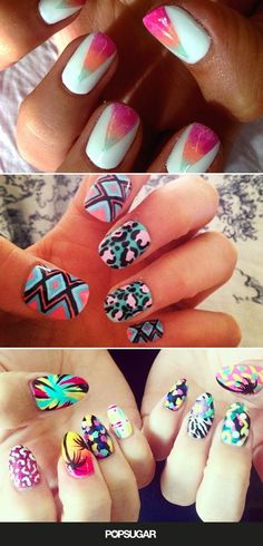 Pin for Later: Ready, Set, DIY! The Best Festival Nail Art on Instagram