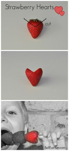 Strawberry Hearts #valentinesday