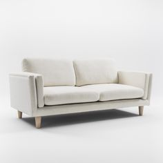 2.5 SEATER SOFA - WHITE