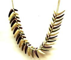 Feather Me Down Necklace www.verdepiedra.com