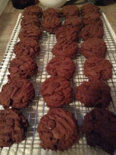 Spicy Mexican chocolate cookies homemade I make all my deserts from scratch