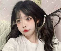 Pretty Korean Girls, Cute Korean Girl, Cute Makeup Looks, Pretty Makeup, Asian Makeup, Korean Makeup, Swag Girl Style, Korean Girl Photo, Kawaii Hairstyles