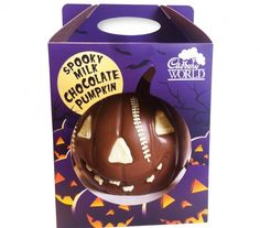 Visitors to Cadbury World in Birmingham, UK, can take home a pumpkin with a difference this Halloween, thanks to the work of New Vision Packaging