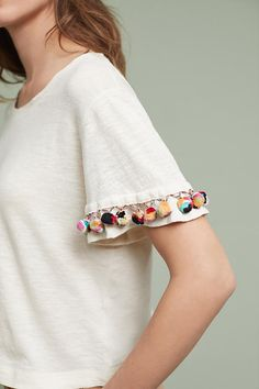 Pommed Tee | Anthropologie