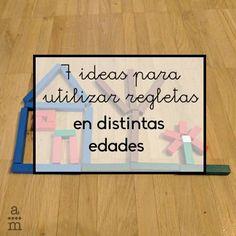 Se pueden utilizar regletas durante todas las etapas de la enseñanza y aprender con ellas muchos conceptos y procesos matemáticos. Descúbrelo! Home Schooling, Reggio, Teacher, Math, Ideas, Funny, Kids Math, 5 Years, Activities