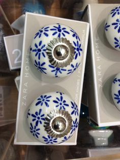 Navy Blue Door Knobs | http://retrocomputinggeek.com | Pinterest ...