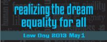 Each year, the nation observes Law Day on May 1. This year is the 150th anniversary of the Emancipation Proclamation. In 1963, during the Proclamation's centennial, Rev. Martin Luther King Jr. stood in front of the Lincoln Memorial and called upon our nation to live up to the great promise, enshrined in its founding documents, of equality for all. Today, the legacy of the Civil Rights Movement can be seen in the strides that have been made against all forms of discrimination.
