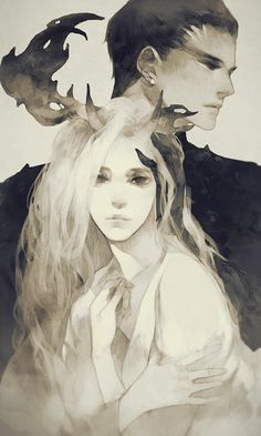 the haunter & the deer  great concept  source: kristina-lijewski.tumblr.com