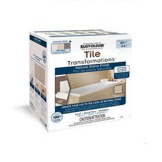 Specially formulated coating tightly adheres to ceramic and porcelain tile…