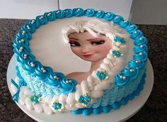 Learn Here: How To Make A Frozen Elsa Birthday Cake At Home Step by Step. Find and save ideas about Homemade frozen cake on our channel. If you want to buy i. Frozen Birthday Party, Elsa Birthday Cake, 4th Birthday, Birthday Wishes, Frozen Birthday Outfit, Birthday Ideas, Olaf Party, Carnival Birthday, Birthday Images