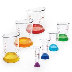 OXO Good Grips Measuring Beakers, Set of 7 | Sur La Table