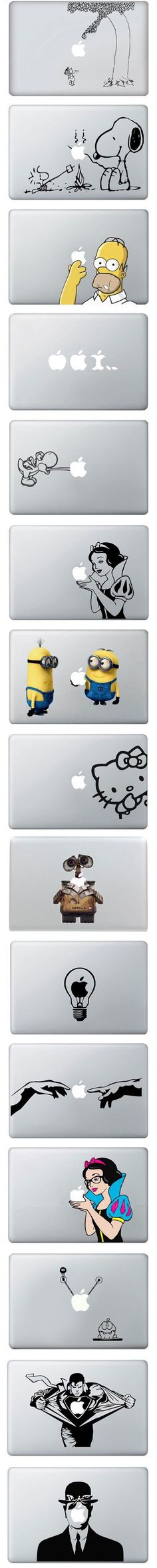 MacBook Vinyl Covers  #stickers #MacBook #apple