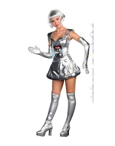 How bad do I need this robot costume? Pretty bad.