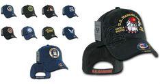 7bac42fbe13 US Army Air Force Navy Marines Bulldog Coast Guard Vietnam Vet Baseball Hat  Cap  RapidDominance
