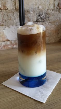 blue iced coffe
