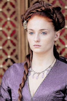 Sophie Turner as Sansa Stark, Game of Thrones || Shootsweet.co.uk: The Baby Shower Printables!