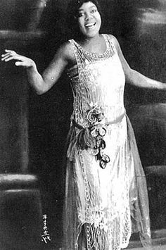 Bessie Smith: 1894-1937  was an American blues singer. Nicknamed The Empress of the Blues, Smith was the most popular female blues singer of the 1920s & 1930s. Considered by many to be the greatest blues singer of all time, Bessie Smith was also a successful vaudeville entertainer who became the highest paid African-American performer of the roaring twenties.She was, along with Louis Armstrong, a major influence on other jazz vocalists.