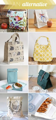 non-toxic alternatives to the lunchbox ...because many contain phthalates      one: lunch bag  two: don't forget me lunch bag  three: eco-friendly lunch bag   four: insulated lunch bag  five: organic insulated lunch bag set  six: waxed canvas lunch bag   seven: screen printed snack bag   eight: organic snack bags