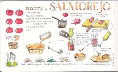Receta de Salmorejo Salmorejo Recipe www.rafaelobrero.com