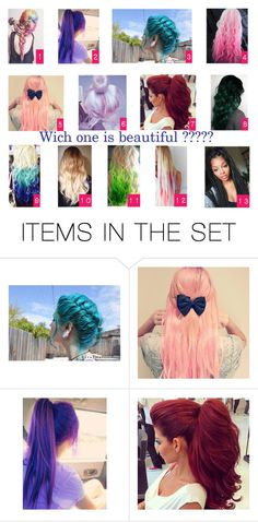 """""""Which one is beautiful ????"""" by helu-klu ❤ liked on Polyvore featuring art"""