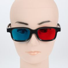 >> Click to Buy << 2016 New Fashion Universal type 3D glasses/Red Blue Cyan 3D glasses Anaglyph 3D Plastic glasses Cool Fashion 3d glassess  #Affiliate