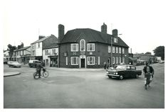 Before Elisabeth Way Roundabout. 15th September 1969: Occupation Road meets Newmarket Road.
