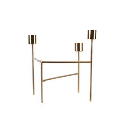 Discover the House Doctor Candle Holder - Brushed Brass at Amara