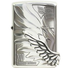 Japanese Angel Wings Zippo Lighter Limited Edition-PAW-116SI
