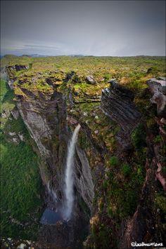 Cachoeira da fumaça, Chapada Diamantina, Bahia, Brasil