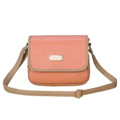 Fashion And Cheap Michael Kors Signature Logo Medium Orange Crossbody Bags Is Loved By More And More People!