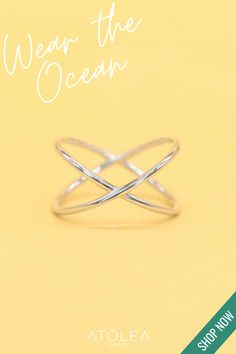 Wear our Boho inspired rings to your favorite beach on a summer day or feel the beach vibes all year round. You can contribute in saving our ocean by purchasing from us! Visit atoleajewelry.com to know more.