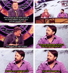 Why am I not friends with David Mitchell?... (QI)
