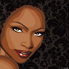 afrogirl by mandyreinmuth on DeviantArt