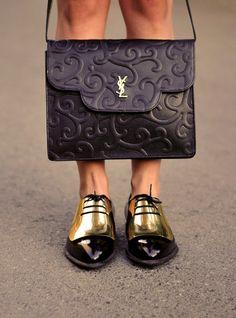 Yves St. Laurent bag. Love!!!