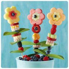 Obst für Kinder - Nachspeise Rezepte