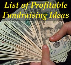 A comprehensive list of the most fantastic Fundraising Ideas!!! -> www.rewarding-fundraising-ideas.com/list-of-fundraising-ideas.html (Photo by Steven Depolo / Flickr)