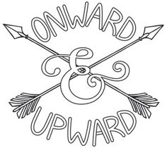 Inspiring Adventure - Onward and Upward | Urban Threads: Unique and Awesome Embroidery Designs