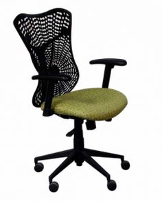 Charlotte from HPFI recently wooed attendees of NeoCon 2013. The office chair offers comfort and support while encouraging independence through ease of motion. Charlotte blends seamlesslywith its surroundings.