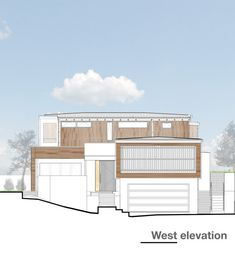 Rothesay Bay,West Elevation